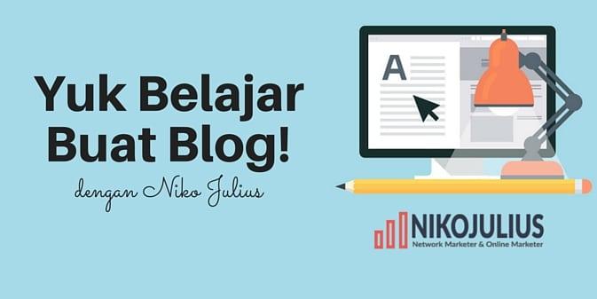 cara membuat blog yang mudah