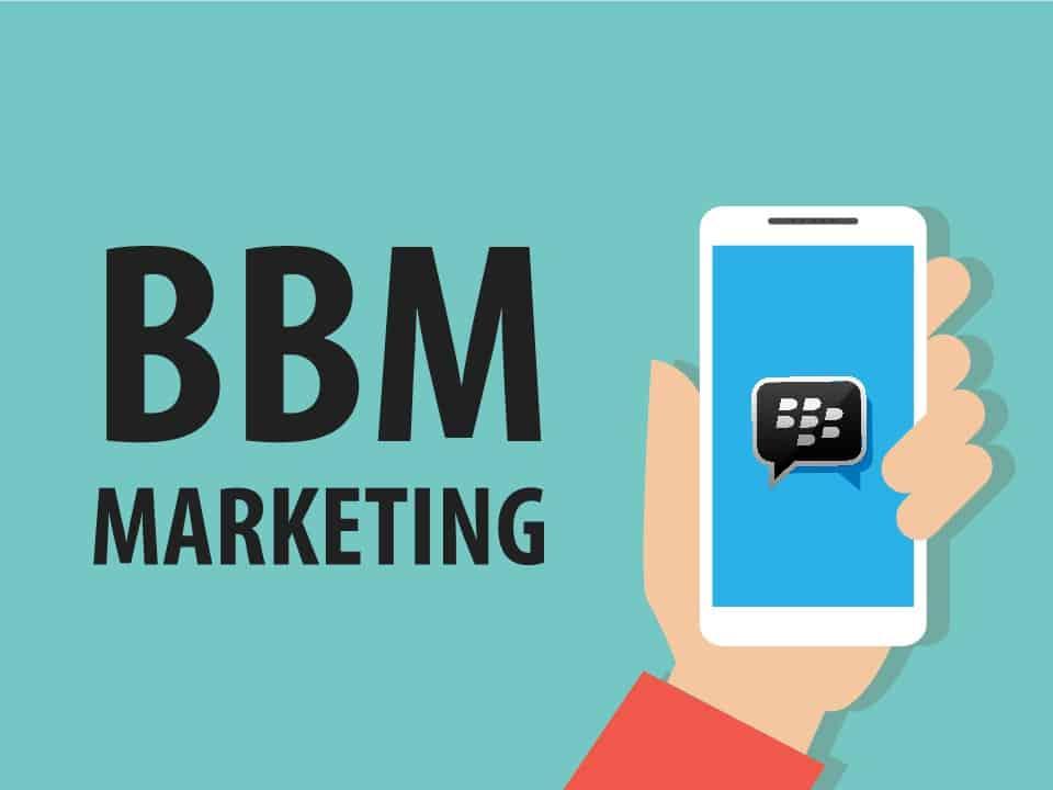 cara promosi di bbm