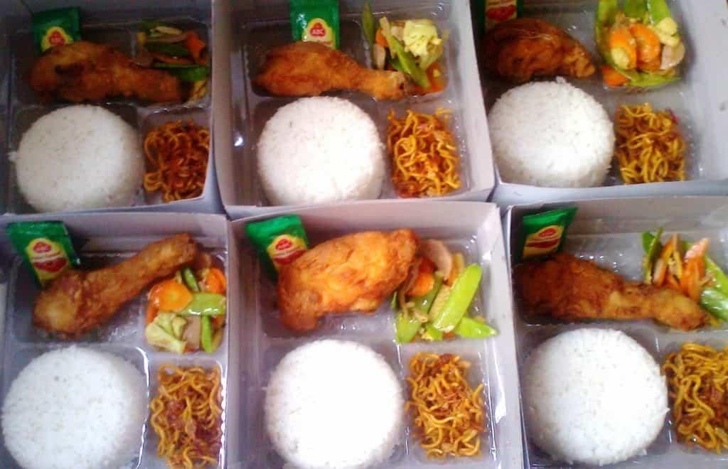 cara promosi nasi kotak