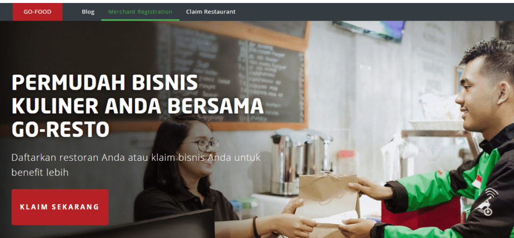Cara Mendaftar Go Food Merchant atau Go Resto