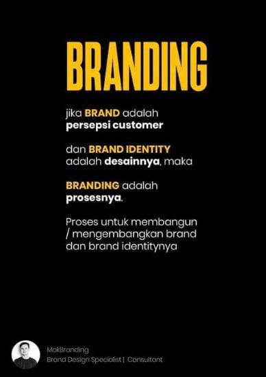 Beberapa istilah umum dalam suatu merek