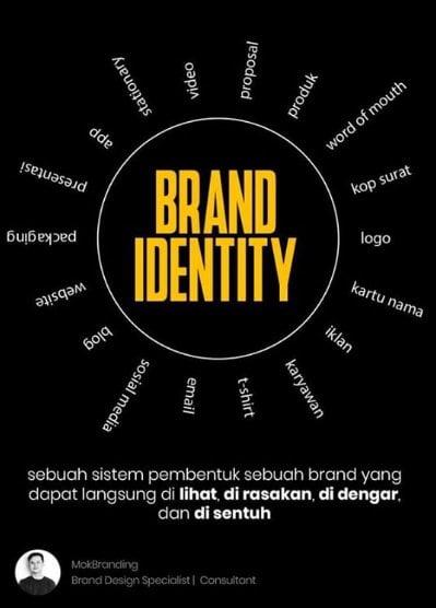 berbagai elemen brand identity